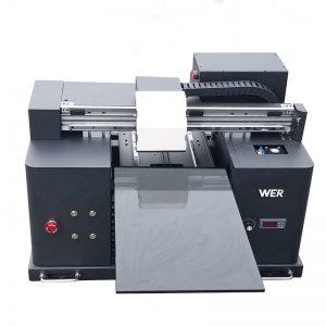 2017 cheap cheap A4 size desktop tablet uv led flatbed digital printer WER-E1080UV
