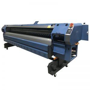3.2m Konica 512i printhead digital vinyl flex banner solvent printer / plotter / printing machine WER-K3204I