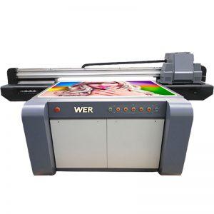 3D effect printer of UV flatbed, printer ceramics, pîşesaziya çapkirinê li Çînê WER-EF1310UV