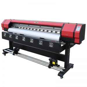 6 feet Print Video WER-ES1901 DX5 / DX7 serê eco solvent printer In Guangzhou Supplier