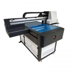 A1 UV Printer Digital 6090 flatbed UV machine with 3D effect / varnish printing