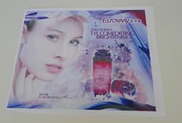 Banner Barkera Flag of 1.6m (5 feet) printer ekco solvent printed by WER-ES160 4