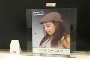Sample print glass ji ji hêla uv printer WER-E2000UV