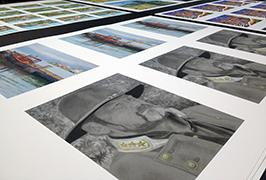 Photo Paper printed by 1.8m (6 feet) printer ekco solvent WER-ES1802 2