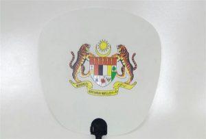 Plastic Fan sample printed by A1 size UV printer 6090UV
