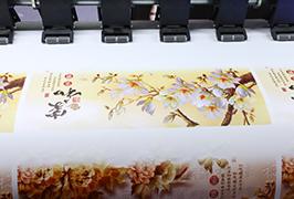 Xweşandina xweseriya Vinyl ji hêla 1.8m (6 feet) printer eco solvent wER-ES1802