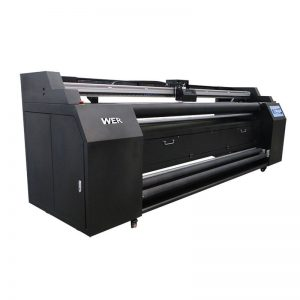 WER-E1802T 1.8m direct to printer texture with 2 * DX5 printer sublimation
