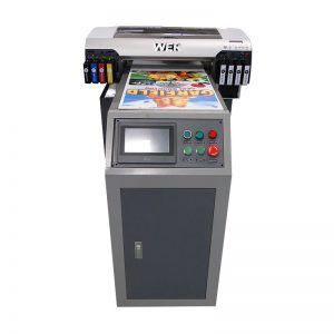 WER-EH4880UV A2 yek head 4880 UV printer printed